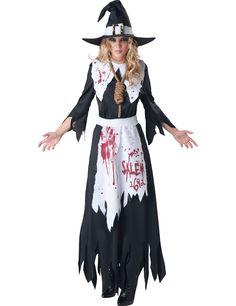 Adulto Deluxe Strega Luna e Stelle Costume Donna Halloween Costume NUOVO