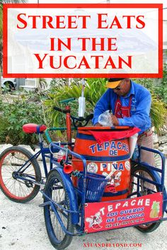 Street eats in the Yucatan a simple guide to the many street foods, stalls and roadside vendors in the Yucatan. via @https://www.pinterest.com/xyuandbeyond/