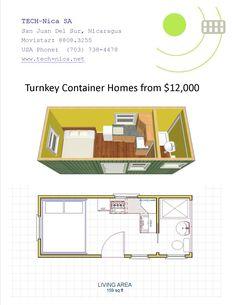20ft container house - Buscar con Google