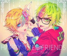 Tags: Ice Cream, Happy Tree Friends, Cuddles (HTF), Nutty, Ibuki (mangaka)