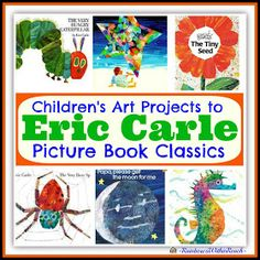 photo of: Eric Carle Picture Book RoundUP of Children's Art Projects via RainbowsWithinReach