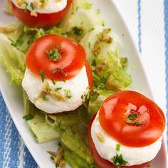 Receita de Tomates com Espuma