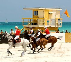 Miami Beach Polo World Cup on South Beach, between 21st and 22nd Streets, behind the Setai Hotel  APRIL 24-28, 2013