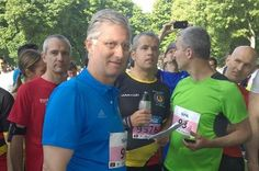 twitter:  King Philippe of Belgium took part in the 20 km van Brussel run, May 18, 2014