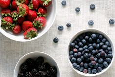 How To Keep Berries From Getting Moldy And Gross | Fresh Strawberries, Blueberries, and Blackberries