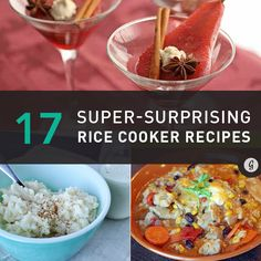 17 Surprising Ways to Use a Rice Cooker #RiceCooker #healthy #recipes