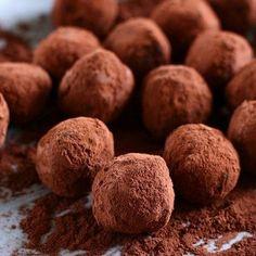 Receita de trufas de chocolate com café – Super deliciosas