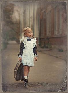 First day at school.  Russia. первоклашка by Nadegda Shibina on 500px