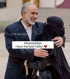 Great Dad Quotes, Good Father Quotes, Father Daughter Love Quotes, Cute Family Quotes, Mom And Dad Quotes, Love Smile Quotes, Brother Quotes, Quran Quotes Love, Good Good Father