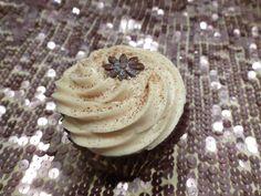Chocolate and Kahlua cocktail cupcake