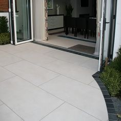 Pennine Alston porcelain tiles are part of the Pennine collection.A remarkable stone porcelain based on natural stone and very realistic Garden Slabs, Garden Tiles, Patio Slabs, Patio Tiles, Garden Paving, Garden Floor, Concrete Patio, Limestone Patio, Pool Paving