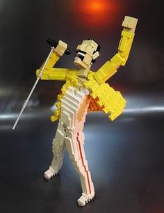 Freddie Mercury | 24 Unexpectedly Awesome Lego Creations