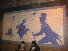 Wonderland mosaic
