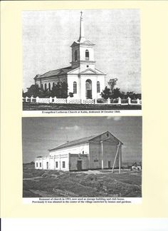 Church: (1868) Lutheran Church at Kulm.  Kulm (Podgornoye)was founded by families from Central Poland, who had earlier immigrated to Poland from German States.  The church was dedicated in 1868 & in 1993 remnant of the church was now used as a storage building and club house.