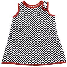Brooklyn Junior zig zag dress. $25