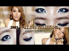 """2NE1 CL """"Falling in Love"""" eye makeup tutorial for monolids"""