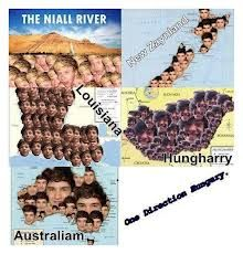 A year ago.. in history we had to memorize the maps and it said the Nial river ad louisanna and my friends just were grinning...so yea xD