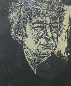 Seamus Heaney, woodcut by Jack Coughlin   http://cortilegallery.com/wp-content/uploads/2010/11/336_seamus_heaneywebsm3.jpg