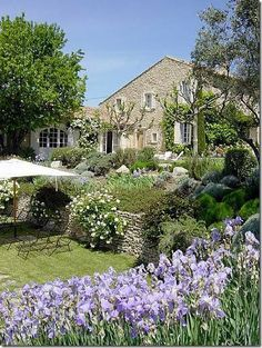 Fotka číslo 20 z les vignes houses with character mediterran Provence Garden, Provence Style, Provence France, French Cottage, French Country House, French Farmhouse, Farmhouse Style, Landscape Design, Garden Design