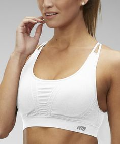 e4adaece59 Marika White Seamless Jackie Sports Bra