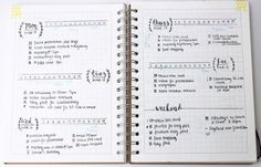 5 Daily Log Layouts for Bullet Journals | www.hannahemilylane.com