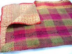 How to Make a Kantha Quilt