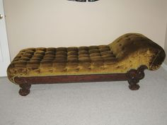 1860's Antique Victorian Fainting Couch Chaise | Flickr - Photo Sharing!