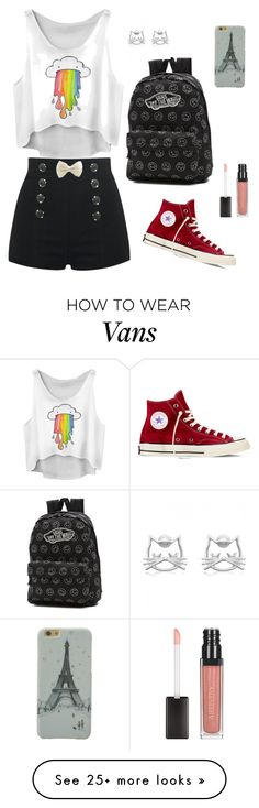 """⭐⭐⭐⭐⭐"" by sabanovicelma on Polyvore featuring Converse and Vans"