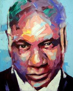 Ving Rhames, Oil On Canvas, Fictional Characters, Art, Fantasy Characters