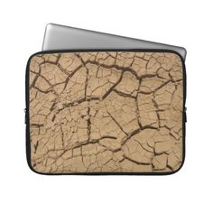 Dry ground in Death Valley Laptop Sleeve