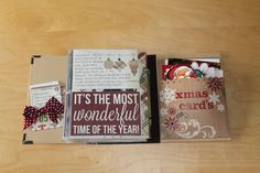 December Daily album using our SN@P! Binder & Handmade Holiday collection - shared with us by Gina Janoher Marti