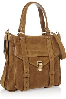 Proenza Schouler  The PS1 suede tote