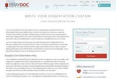 Custom Dissertation Writing That Helps