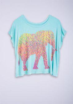 dELiAs > Elephant Mirage Tee > tops > graphic tees > view all graphic tees   #elephantlove