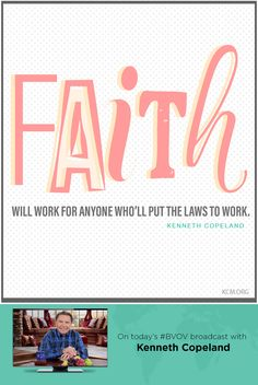 God has given you the ability to believe, by faith, all that is written in His WORD. Today, join Kenneth Copeland on the Believer's Voice of Victory broadcast, and discover how to apply God's WORD to any situation you may be facing. Now, here's Kenneth.  In addition to the broadcast, click here to learn even more about putting words with your faith!  - See more at: http://www.kcm.org/watch/tv-broadcast/believe-faith#sthash.0ckI8UjS.dpuf