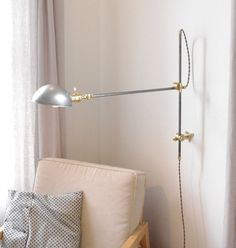 O.C. White Style Industrial Lamp EXTRA Versatile by LongMadeCo