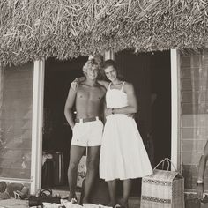 """80s90sthrowback: """" Christopher Atkins & Brooke Shields on the set of The Blue Lagoon (1980). Dir: Randal Kleiser """""""