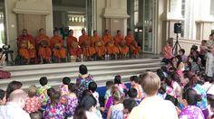 Buddhist Monks visit Berkeley