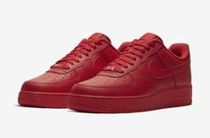 Nike Air Force 1 Low Triple Red CW6999 600 Release Date