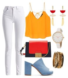 """""""Untitled #81"""" by bykaty on Polyvore featuring Barbour International, Robert Clergerie, Mulberry, MANGO, Isabel Marant and Amrita Singh"""