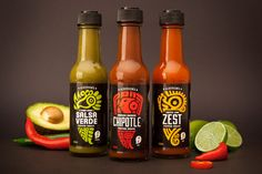 Aldersons | Premium New Zealand Made Hot Sauce Packaging Design