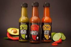 Aldersons | Premium New Zealand Made Hot Sauce Packaging Design