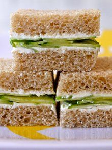 Cucumber Cream Cheese Sammies from Weelicious.com