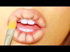 Una técnica sencilla y rápida para conseguir unos labios mucho más gruesos y sensuales.