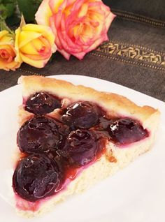 Traditional French Plum Tart Recipe | Decadent Dessert Recipes
