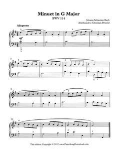 Bach, attributed to Christian Petzold, BWV free PDF printable piano sheet music Piano Sheet Music Pdf, Saxophone Sheet Music, Free Sheet Music, Digital Sheet Music, Piano Music, Music Music, Music Theory Piano, Piano Songs, Violin Lessons