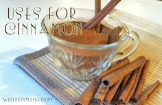 health benefits and uses of cinnamon including some I bet you didn't know. Do you use cinnamon?