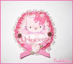 Hello Kitty Princess Pin by kawaiislandgurl72 on Etsy, $6.50