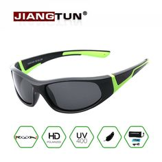 JIANGTUN Super Light Kids TR90 Polarized Sunglasses Children Outdoor Safety Brand Glasses Flexible Rubber Oculos Infantil #clothing,#shoes,#jewelry,#women,#men,#hats,#watches,#belts,#fashion,#style