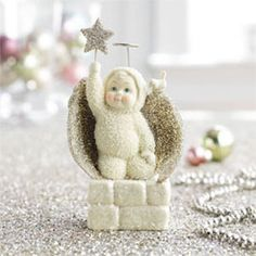 "Department 56 Snowbabies Snowbabies SnowDream ""Angel of Peace"""
